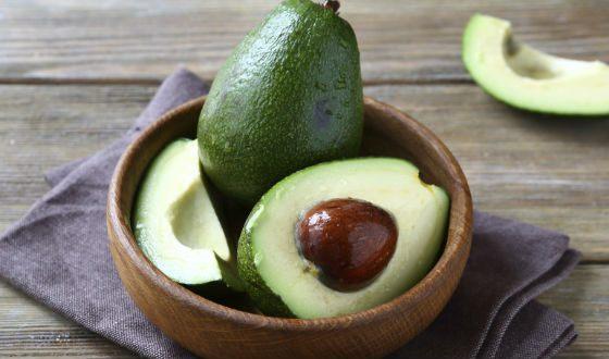 Авокадо богаты калием