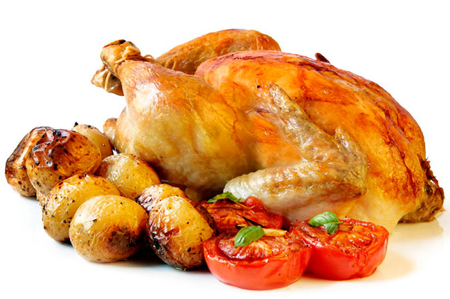 Курица для набора мышечной массы
