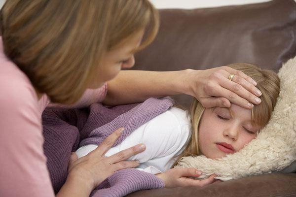 Ротавирусная инфекция может давать высокую температуру