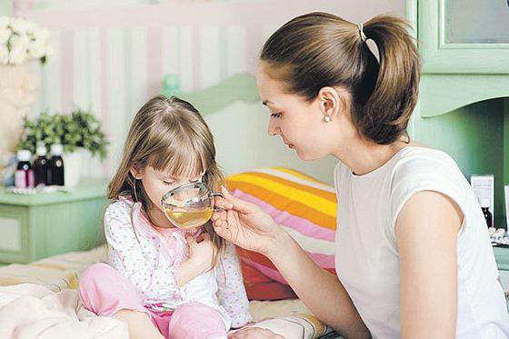Справиться с ротавирусом помогает обильное питье