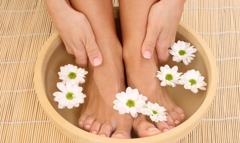 Расслабляющие ванны для ног