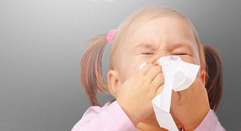 Аллергия у детей на домашнюю пыль
