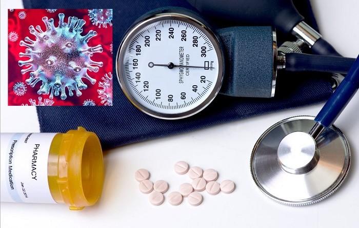 Коронавирус - влияние лекарств от гипертонии